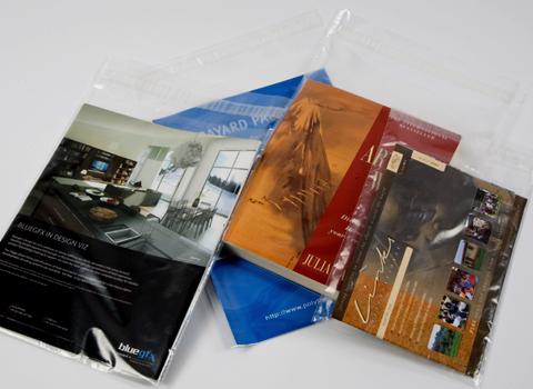 Clear Medium Duty Self-Seal Plastic Envelopes - 50 micron