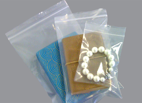 Clear Heavy Duty Grip Seal Polythene Bags