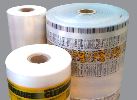 Plain & Printed Mailing Film on the reel