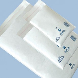 WHITE PADDED ENVELOPES H//5 Featherpost Strong Cheap Packaging Mailing Mail Bags
