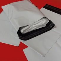 230mm x 310mm White Mailing Bags 55mu