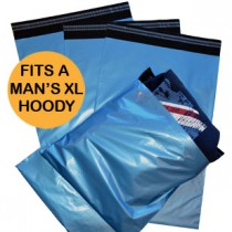 "330mm x 485mm (13"" x 19"") Pack of 500 - Blue Co-Ex Mailing Bags"