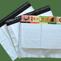 500mm x 360mm White Mailing Bags 70mu