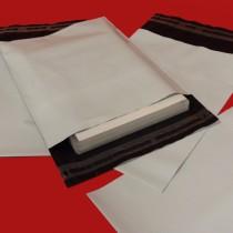 175mm x 240mm White Mailing Bags 70mu