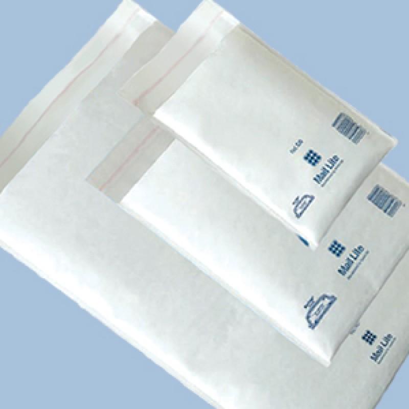 B00 B//00 White 120mm x 210mm Padded Bubble Wrap Mail Lite Postal Bag Envelopes