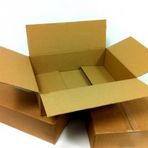 Single Walled Boxes 400mm x 280mm x 107mm - Pack of 25