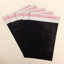 175mm x 240mm Black Mailing Bags