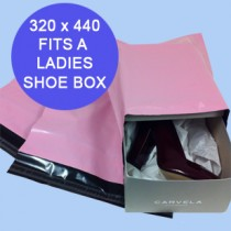 320mm x 440mm Pink Mailing Bags