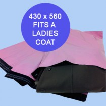430mm x 560mm Pink Mailing Bags