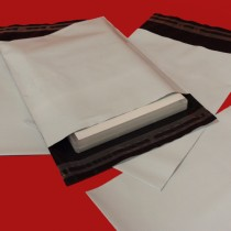 175mm x 240mm Heavy Duty White Mailing Bags - Pack of 500
