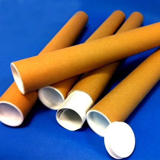 5 Postal Tubes 450mm x 45mm - PT450