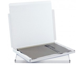 339x241x20mm White Postal Box | Pack of 50
