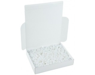 390x325x75mm White Postal Box | Pack of 50