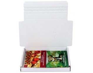 152x107x20mm White Postal Box | Pack of 50