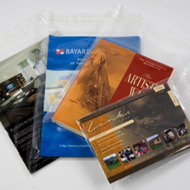 165x230 38 micron poly envelopes