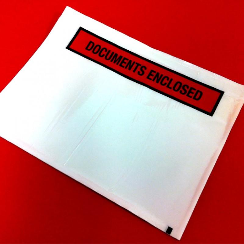A5 Document Enclosed Pouches